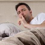������, ������: Man unable to sleep