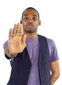 Young black male — Stock Photo