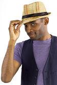 Genç siyah erkek — Stok fotoğraf