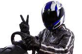 Automobilový závodník — Stock fotografie