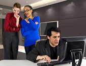 Office Harassment — Stock Photo