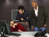 Office Harassment — Stock Photo