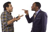 Two men arguing — Stock Photo