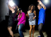People in club dancing — Stock Photo