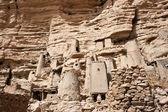 Ancient Dogon village, Mali (Africa). — Stock Photo