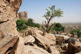 The Bandiagara Escarpment, Mali (Africa). — Stock Photo