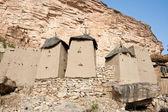 Granaries in a Dogon village, Mali (Africa). — Stock Photo
