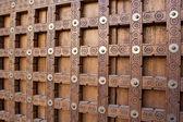 Traditional wooden door in Timbuktu. — Stock Photo
