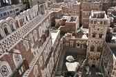Typical yemeni architecture, Sanaa (Yemen). — Stock Photo