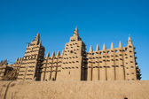 The Great Mosque of Djenné, Mali, Africa. — Stock Photo