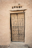 Traditional door, Bandiagara Escarpment. — Stock Photo