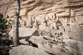 Ancient Dogon village, Mali, Africa. — Stock Photo