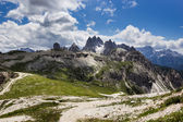 Peaks of the Dolomites of Veneto, Italy. — Stock Photo