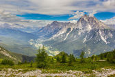 Valley in the Dolomites, Alps, Italy — Stock Photo