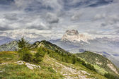 View from Monte Rite, Dolomites, Alps, Italy — Stock Photo