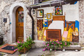 The murals of Cibiana, Italy. — Stock Photo