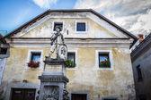 Statue of Josipini Hocevarjevi, Radovljica, Slovenia. — Stockfoto