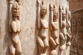 Wood sculptures, Mali. — Stock Photo