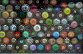 Graffiti Spray Cans — Stock Photo