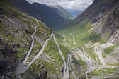Trolls' Path (Trollstigen) — Stock Photo