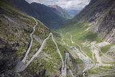 Trolls' Path (Trollstigen) — Stock Photo