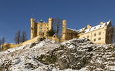 Hohenschwangau Castle in winter — Stock Photo