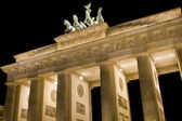 Close-up brandenburg gate — Stock Photo