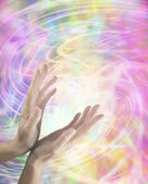 Swirling Healing Energy — Stock Photo