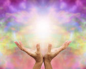 Angelic Healing Energy — Stock Photo