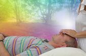 Beautiful healing dream — Stock Photo