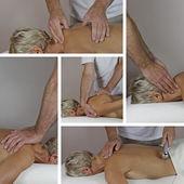 Male Sports Massage Therapist — Stock Photo
