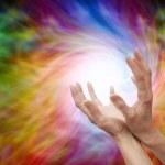 Sending Distant Healing Energy — Stock Photo #48187939