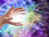 Electrifying healing energy — Stock Photo