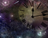 Time and space — Stock Photo