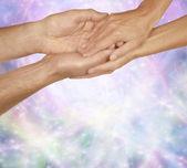 The Healing Touch — Foto de Stock