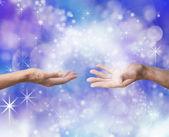 Soulmates Sharing Energy — Stock Photo