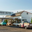 Wingwam Village Motel 6 on the historic Route 66 in Holbrook, Arizona, USA — Stock Photo #51446339