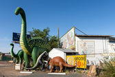 Rainbow Rock Shop in Holbrook, Arizona along the historic Route 66 — Foto Stock