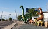 Rainbow Rock Shop in Holbrook, Arizona along the historic Route 66 — Stock Photo