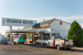 Wingwam Village Motel 6 on the historic Route 66 in Holbrook, Arizona, USA — Foto Stock
