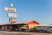 Vintage buildings along the historic Route 66 in Holbrook, Arizona, USA — Stock Photo