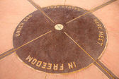 The Four Corners Monument — Stock Photo