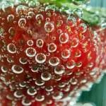 macro morango — Fotografia Stock  #47433699