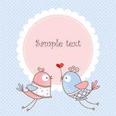 Romantic card — Stock Vector
