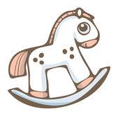 Koń na biegunach — Wektor stockowy