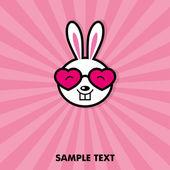 Funny bunny — Wektor stockowy