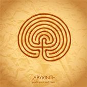 Celtic labyrinth — Stock Vector