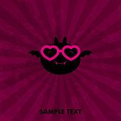 Lovely card — Stock Vector
