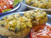 Seafood mushrooms — Stock Photo