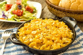 Bake macaroni and cheese — Foto Stock